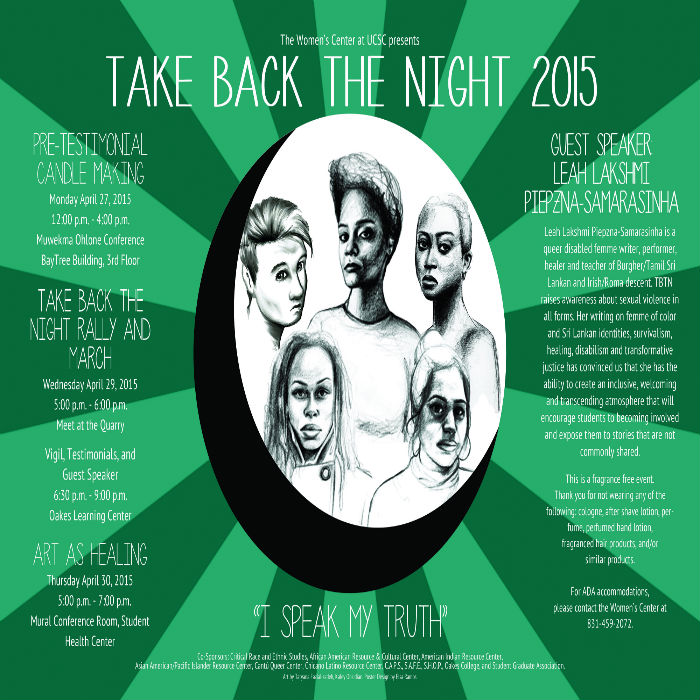 Take Back The Night 2014-15